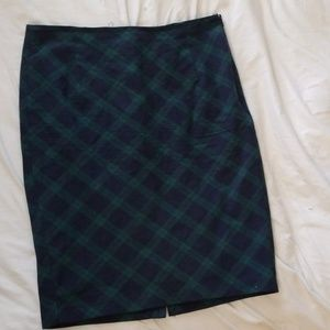 old navy plaid skirt